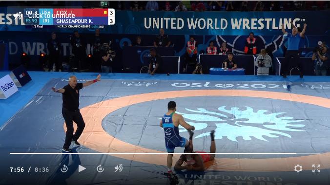 Screenshot 2021-10-03 at 08-42-40 92 kg 1 2 Final - Jden Cox, United States vs Kamran Ghasempour, Iran.png